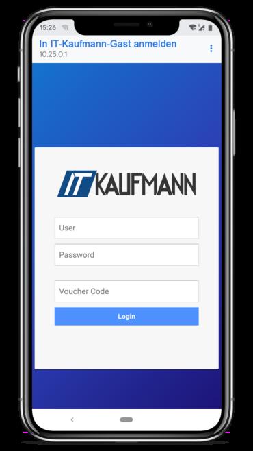 Captive Portal zur genauen User-Verifizierung